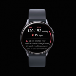 Smart watch Samsung Galaxy Watch Active 2 will learn how to measure blood pressure