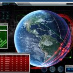 US space forces armed with satellite tracking system