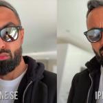 Blogger jasně ukázal rozdíl mezi fotoaparáty iPhone SE 2020 a iPhone 11