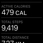 How to see the number of steps taken on the Apple Watch