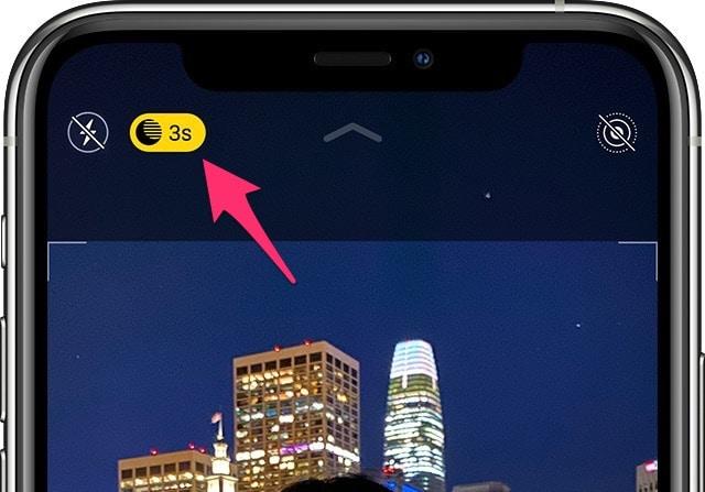 Как сделать фото ночью на айфоне