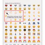 How to find out what a particular emoji smiley means