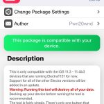 SemiRestore11 / Rollectra tool for Electra1131 jailbreak removal released
