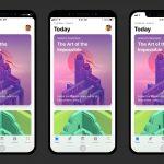 Kuinka sovellukset voivat käsitellä katkaisua iPhone 8 -näytössä