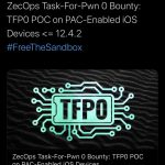 The tfp0 exploit for iOS 12.4.1 and iOS 12.4.2 appeared on devices A12 and newer