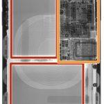Omituinen mikrosiru iPhone X: n sisällä
