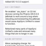 """IOS 10.3.3 """"AppSync Unified"""" jailbreak tweak released"""