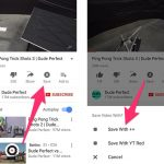 How to download YouTube video to iPhone and save it to Camera Roll