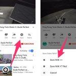 So laden Sie YouTube-Videos auf das iPhone herunter und speichern sie in Camera Roll