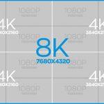 Vše, co potřebujete vědět o 8K televizi