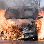 Tesla independently accelerated and exploded with the owner inside