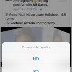 How to download videos from Facebook to iPhone using jailbreak tweak FVideo