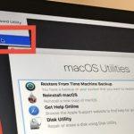 How to reset password in macOS Sierra