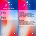 How to enable preview notifications on a locked iPhone X