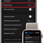 So verwenden Sie den Bildschirmzoom auf der Apple Watch