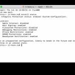 Jak zkontrolovat, zda je v systému Mac povoleno SIP