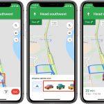 Як поміняти стрілочку на значок автомобіля в Google Картах