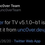 Unc0ver for TV v5.1.0 b1 released with support for new tvOS versions