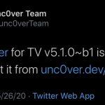 تم إصدار Unc0ver for TV v5.1.0 b1 مع دعم إصدارات tvOS الجديدة