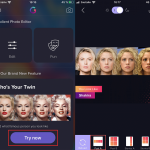 Gradient app: find out which celebrity you look like