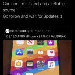 Uusi tfp0-virhe löytyi iOS 13.3- ja A12 / A13-laitteiden tuella