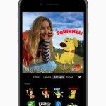Klipy se aktualizují pomocí nového rozhraní, trojrozměrných selfies a samolepek od Star Wars