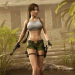 A series of games about Lara Croft is on sale with discounts up to 89%