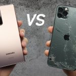 Samsung Galaxy Note 20 Ultra vs iPhone 11 Pro Max in the drop test: who is more tenacious?