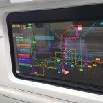 LG starts installing transparent OLED displays instead of subway windows