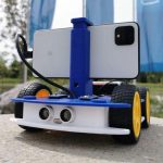 Smartphone-based robot created