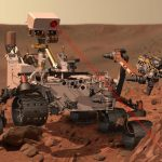 A robot sent to Mars to generate oxygen