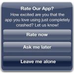 Die Medien berichteten, wie Entwickler die Bewertungen von Benutzern von iOS-Anwendungen manipulieren