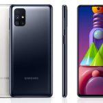 Společnost Samsung již přijímá předobjednávky baterie Galaxy M51: baterie 7000 mAh a čtyřnásobného fotoaparátu za 360 EUR