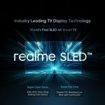 Realme has announced 55-inch 4K TV with new SLED technology