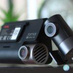 Registrar Xiaomi 70mai A800. 2 cameras, 4K