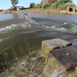 Shown underwater driving of Russian tanks