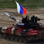 Russland gewann den Panzer-Biathlon