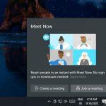 قام Windows 10 ببناء تكبير تناظري لمكالمات الفيديو