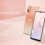 HTC Desire 20+: čip Snapdragon 720G, čtyřnásobný fotoaparát 48 MP, baterie 5 000 mAh s funkcí Quick Charge 4.0 a cenovka 295 USD