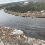 In der NAO wurde aufgrund der Verschmutzung des Flusses mit Öl ein Notfallregime eingeführt. die Hauptsache