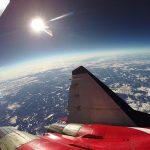 Publikované video z bitvy o ruský MiG-31 ve stratosféře