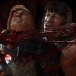 Cabal and Terminator suffer from Rambo's fists in Mortal Kombat 11 gameplay trailer