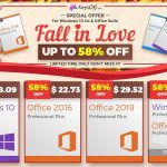 Keysoff.com Fall Sale: Windows 10 für 8,09 USD und MS Office für 22,73 USD