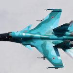 The pilot spoke about the risk of the Su-34 fighter to fall from a height