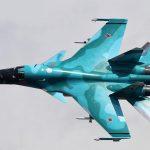 Pilot hovořil o riziku pádu stíhačky Su-34 z výšky