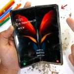Correction of mistakes: foldable Samsung Galaxy Z Fold 2 tested for strength