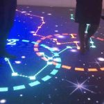 "China has developed an interactive ""living"" floor for apartments"