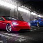 Concept rend la nouvelle Tesla Model S avec un design similaire à la Tesla Roadster