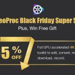 Black Friday Promo: Get Powerful 4K Video Converter / Editor Now