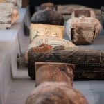 More than 100 ancient sarcophagi with mummies found in Egypt